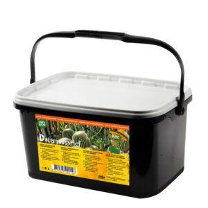Speciale lucht- en waterdoorlatende potgrond voor cactussen en vetplanten. Bevat voedingsstoffen voor minimaal 8 weken.